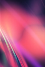 Preview iPhone wallpaper Abstract background, colorful light, curves