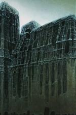 Castle, dark, art picture