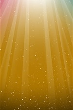 Preview iPhone wallpaper Colorful stripes, stars, abstract