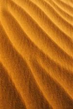 Deserto, areia, textura, faixa