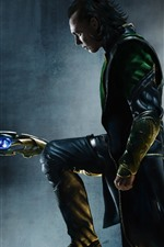Preview iPhone wallpaper Loki, DC Comics