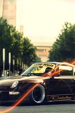 Vorschau des iPhone Hintergrundbilder Porsche 911 Oldtimer