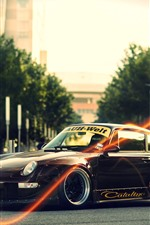 Preview iPhone wallpaper Porsche 911 classic car