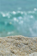 Vorschau des iPhone Hintergrundbilder Sand Nahaufnahme