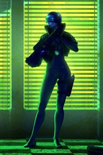 iPhone壁紙のプレビュー 2人の兵士、闇、ゲームの画像
