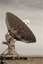 Preview iPhone wallpaper Radio telescope, sky