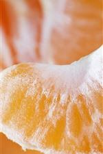 Preview iPhone wallpaper Tangerine slice, fruit