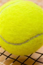Preview iPhone wallpaper One tennis, green texture