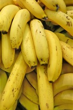 Preview iPhone wallpaper Some banana, fruit background