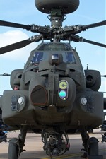 Preview iPhone wallpaper Combat helicopter