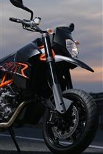 Motocicleta KTM, crepúsculo