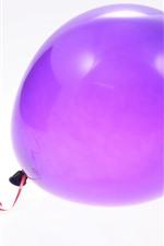 iPhone壁紙のプレビュー 紫色の風船1つ