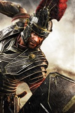 Preview iPhone wallpaper War, warrior, armor, sword