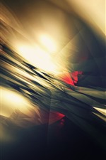 Preview iPhone wallpaper Abstract light, lines, galre