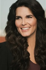 Preview iPhone wallpaper Angie Harmon 01