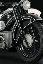Preview iPhone wallpaper BMW motorcycle, black background
