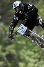 Biking, race, downhill