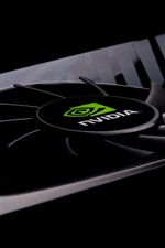Preview iPhone wallpaper Nvidia graphics card, fan