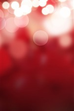 Preview iPhone wallpaper Bright light circles, red background
