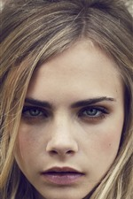 Preview iPhone wallpaper Cara Delevingne 17