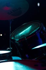 Preview iPhone wallpaper Musical instrument, concert, drum kit