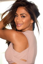 Preview iPhone wallpaper Nicole Scherzinger 58