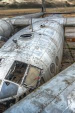 iPhone обои Старый самолет