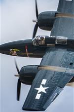 Preview iPhone wallpaper Tigercat fighter, Grumman