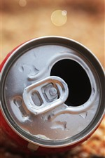 Preview iPhone wallpaper Aluminum cans, top view
