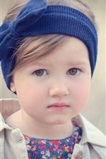 Cute little girl, child, portrait