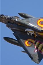 Preview iPhone wallpaper Multipurpose fighter, Dassault Mirage 2000D, sky
