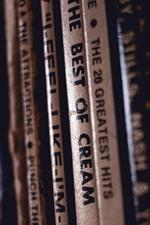 iPhone壁紙のプレビュー レコードコレクション、タイトル