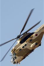 Vorschau des iPhone Hintergrundbilder SA-330 Puma Hubschrauber