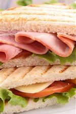iPhone обои Сэндвич, еда