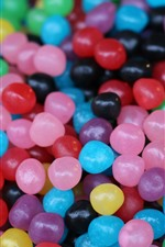 Preview iPhone wallpaper Many colorful candy beads