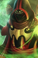 Preview iPhone wallpaper Mortal Kombat, ninja, game