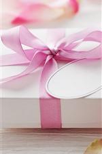 iPhone обои Подарок, лепестка роз роз, романтические