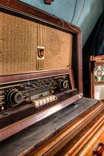 미리보기 iPhone 배경 화면 라디오, 클래식 전기 제품