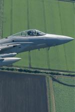 F-15C Eagle Fighter, Vôo, Céu, Campos