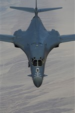 Preview iPhone wallpaper Lancer B-1B bomber, supersonic, wings, flight