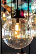 Alguma lâmpada, luzes, vidro, nebuloso