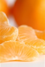 Preview iPhone wallpaper Some mandarin, fruit