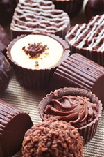 Preview iPhone wallpaper Sweet food, chocolate candy