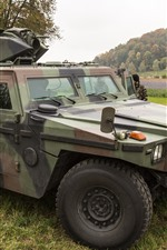 Preview iPhone wallpaper Swiss, armored car