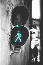 Semáforo, luz verde