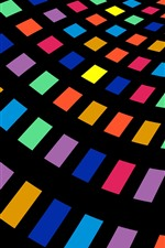 Malhas coloridas, abstrato