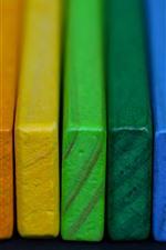 Aperçu iPhone fond d'écranFormes de bois colorées
