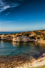 Preview iPhone wallpaper Italy, Sardinia, sea, coast, blue sky