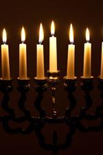 Aperçu iPhone fond d'écranDes bougies, des chandelles