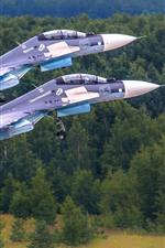 Aperçu iPhone fond d'écranCombattants multissers SU-30
